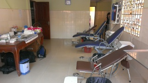 Dental chairs ready to treat patients